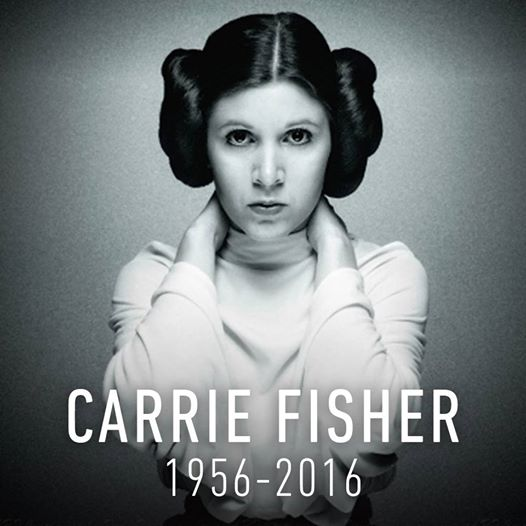 carrie fisher rip on kristinecherry.com